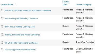 iris courses