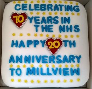 MVH birthday cake